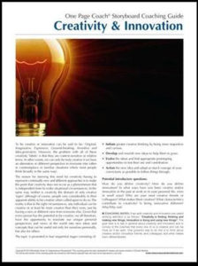 Creativity & Innovation CG