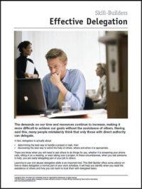 Effective Delegation.SBB