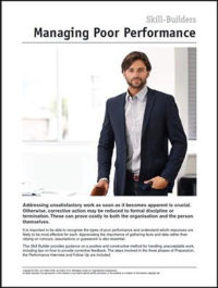 Managing Poor Performance.SBB